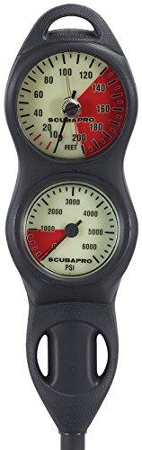 ScubaPro 2 Gauge U-Line Console