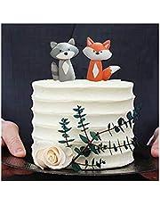 Animal Baby Shower Decoration Cake Topper for Baby Shower Birthday