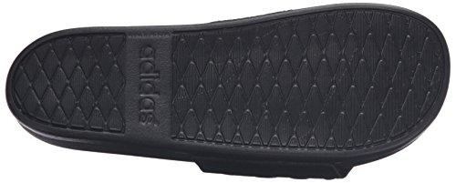 Adidas Performance Menns Adilette Fm + Glide M Natur C Sandaler Sort / Sort / Sort