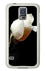 Samsung S5 best case white rose PC White Custom Samsung Galaxy S5 Case Cover