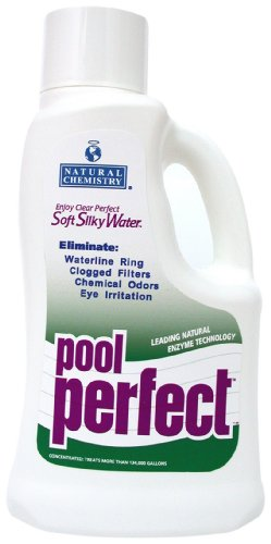 Natural Chemistry 03220 Concentrated Pool Perfect Water Cleaner, 2-Liter (Natural Chemistry Pool Perfect)
