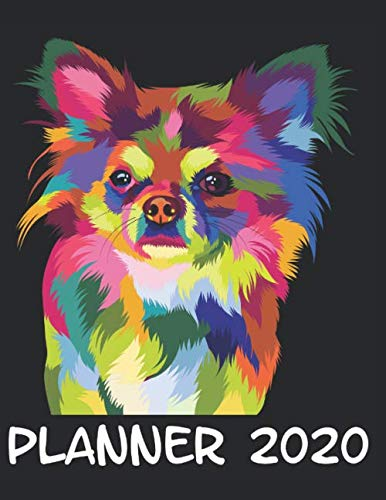 Planner-2020-Planner-Weekly-and-Monthly-for-2020-Calendar-Business-Planners-Organizer-For-To-do-list-85-x-11-with-Chihuahua-Dog-Breed-Fun-Funny-Colorful-Humor