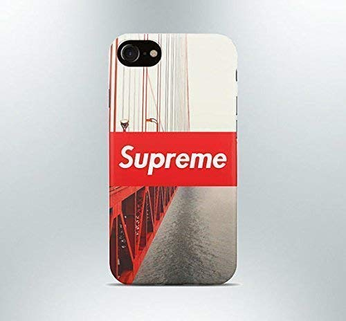 superior quality 3fc9b 35857 Amazon.com: Inspired by Supreme iPhone case 7 plus X XR XS Max 8 6 ...