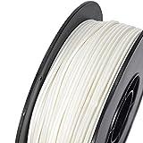 Inland 1.75mm White PLA 3D Printer Filament - 1kg
