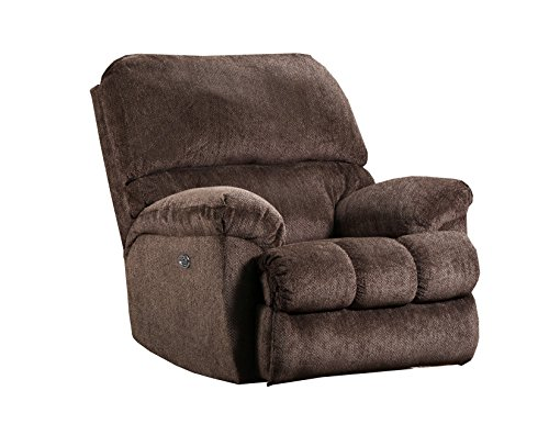 Chestnut Living Room Chair (Simmons Upholstery U586-19 Harlow Recliner, Harlow Chestnut)