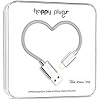 Happy Plugs Data Cable for iPhone 5/5s/5c/6/6 Plus and Other Smartphones- Retail Packaging - Silver
