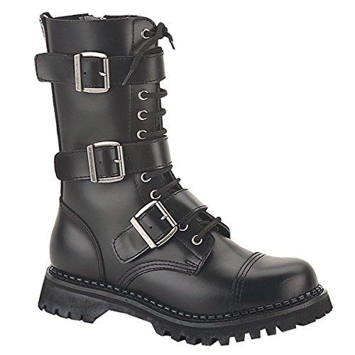 bottes punk 48 Demonia Riot US 36 chaussures gothique Herren 12 48 ranger Boots US M14 unisex EU n44XB6px