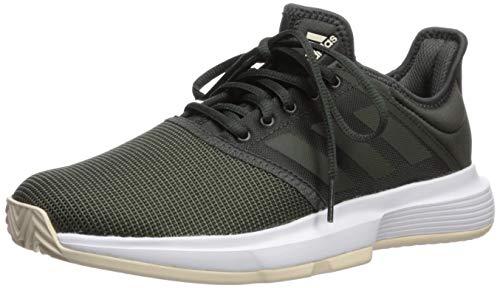 adidas Women's GameCourt Tennis Shoe, Legend Earth/Linen, 5 M US ()