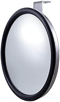 United Pacific C5002 Stainless Steel Visor-Fits 4 Mirror