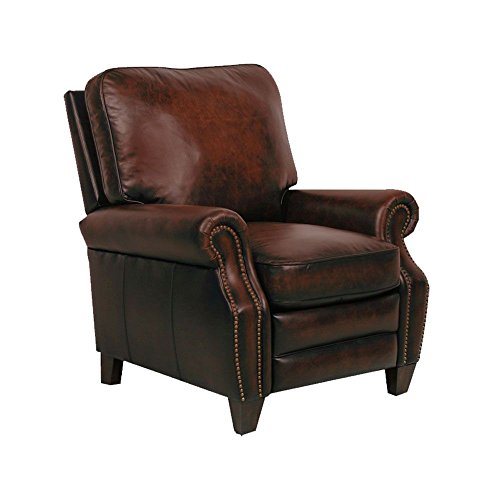 Briarwood II Leather Recliner by Barcalounger Dimensions: 37.25