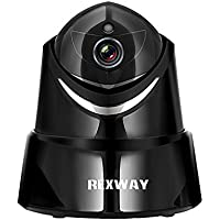 REXWAY 1080P Wireless IP Camera, 2017 Home Indoor Baby/Pet Security Monitor with Two-Way Audio, Full HD WiFi Surveillance Video Night Vision Cam, Remote with iOS and Android APP