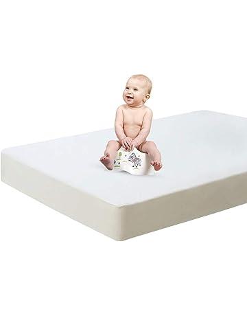 HBselect 2 Pezzi di Salvamaterasso Lettino Super Assorbente Coprimaterasso in Cotone Multiuso Telo Salvapipi per Letto 50x70 CM Protezione Materasso per Bambini Neonati e Anziani
