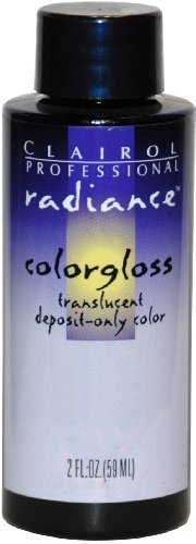 Clairol Radiance Colorgloss Semi Permanent Hair Color - #8A - Light Ash Blonde 60 ml by Clairol