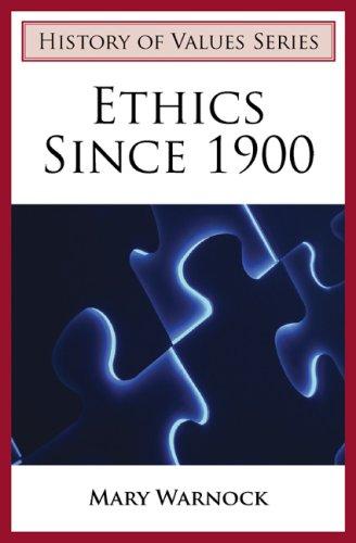 Download Ethics Since 1900 PDF