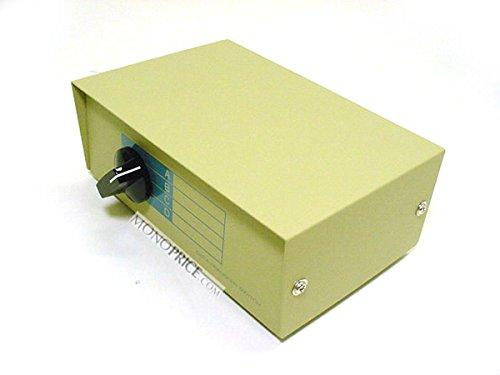 Monoprice 101343 DB9 Female ABCD 4 Way Switch Box