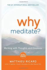 Why Meditate: Working with Thoughts and Emotions Paperback