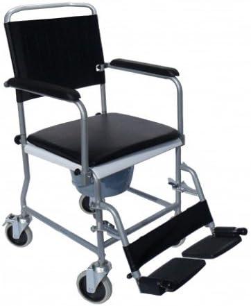 Sundo Homecare - Silla de ruedas plegable con orinal