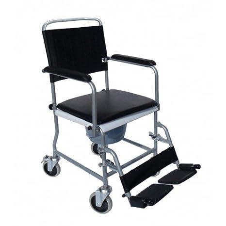 Sundo Homecare - Silla de ruedas plegable con orinal: Amazon.es: Salud y cuidado personal