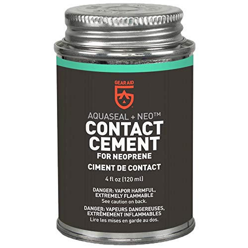 - Aquaseal + Neoprene Contact Cement 4oz