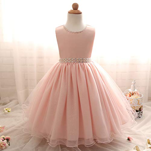 (Baby Girl Kids Dresses for Wedding Evening Party Princess Dress Girl Costume Children Prom Fancy Tutu Dress Ceremonies Gown,C00267F,12M)
