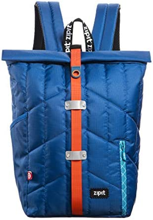 ZIPIT Puffer Backpack, Blue