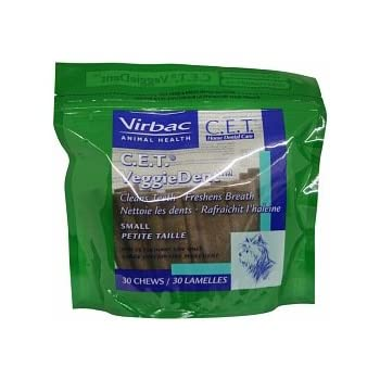 Amazon.com: Virbac C.E.T. VEGGIEDENT Tartar Control Chews