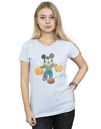 Maglietta Mickey Frankenstein Sport Grigio Disney Mouse Donna 1IwExq4