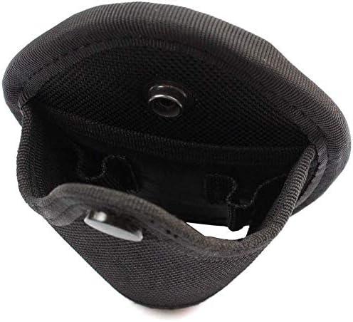 mcjs-silisili Handcuff Case 2Pcs Quick Release Handcuff Case Nylon Open Top Handcuff Holder Pouch Fits Chain