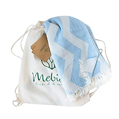 Mebien Turkish Beach Bath Towel-Ocean Design Blue Luxury peshtemal for spa Pool Bathroom Sand Free %100 Cotton Blanket Towels Set, Gift for Women Sizes: 33x66 inches - NATURAL TURKISH BEACH BATH TOWEL: in bathroom, pools, spas, beaches, gyms, saunas, hammam, yogas HOME TEXTILE: Throw to your coach, chair, sofa, and bed. purple, yellow, light grey, pink, orange .. BLANKET: Travel, beach, picnic, camping or for your baby , quick dry classic multi colour products. - bathroom-linens, bathroom, bath-towels - 41LEEGwHDrL. SS400  -