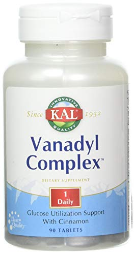 Cheap Kal 10 Mg Vanadyl Complex Tablets, 90 Count