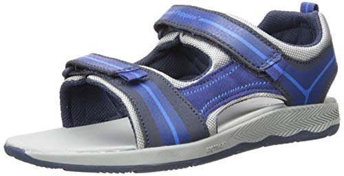 Hush Puppies Boys' Jinx TS Field Sandal Navy 040 Medium US Big Kid (Hush Sandals Kids Puppies)