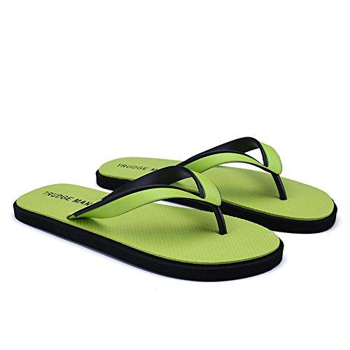Las Sandalias Green Hombres de Clásicas de Chancletas Chancletas los UqYp8w10