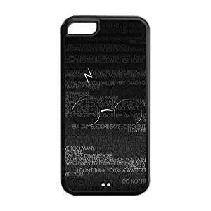 5C Phone Cases, Harry Potter Hard TPU Rubber Cover Case for iPhone 5C