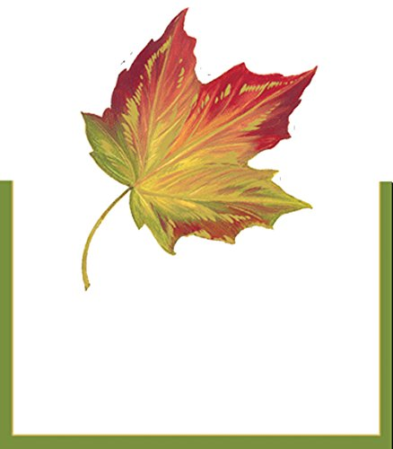 Caspari Place Cards 82930P Maple Leaf Place Cards