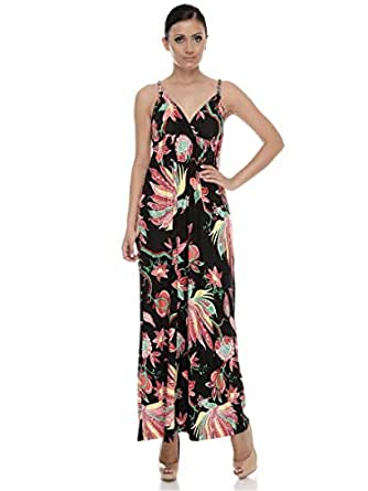 Marla Women's Floral Printed Maxi Dress
