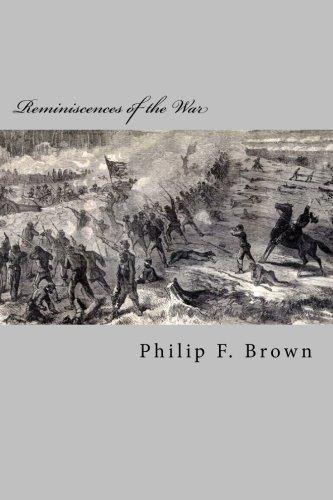 Reminiscences of the War pdf epub