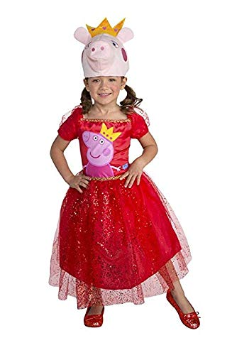 Peppa Pig Tutu Dress Peppa Toddler Costume 3T-4T Pink