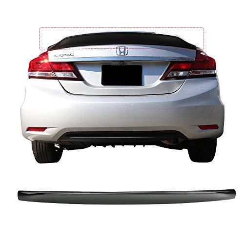 its 2013-2015 Honda Civic Sedan   IKON DUCKBILL V2 Style Unpainted PP Trunk Deck Lip Wing by IKON MOTORSPORTS ()