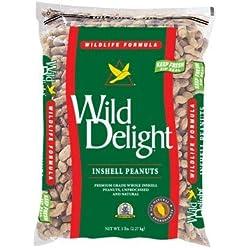 Wild Delight Inshell Peanuts, 5 lb