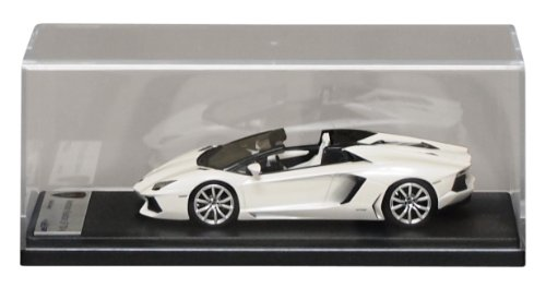 1/43 Lamborghini Aventador LP700-4 ロードスター マットホワイトパール LS413C