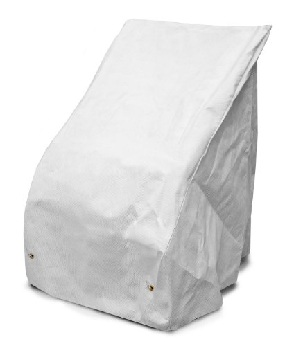 KoverRoos DuPont Tyvek 29251 Armless Seating Cover, 40-Inch Width by 36-Inch Diameter by 31-Inch Height, White