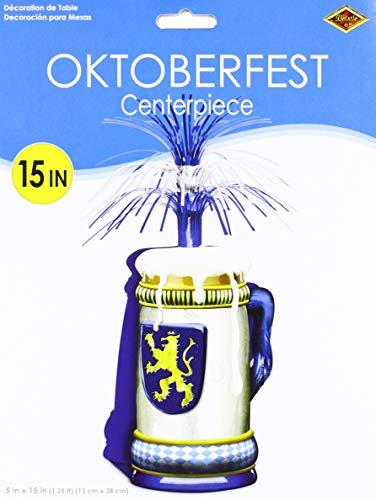 Oktoberfest Centerpiece Party Accessory (1 count) (1/Pkg) ()