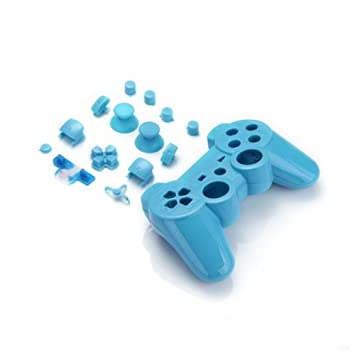 Funda Carcasa Reemplazo para Mando Inalámbrico PS3 Color ...