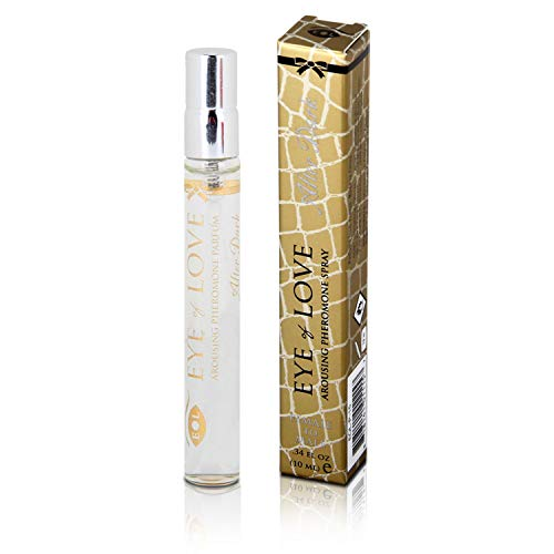 Eye Of Love: After Dark Deluxe Pheromone Perfume [Attract Men] Pheromones for Women - Pheromone Perfume Spray - Elegance - Extra Strength Human Pheromones Formula - for Work - for Play {Travel Size}