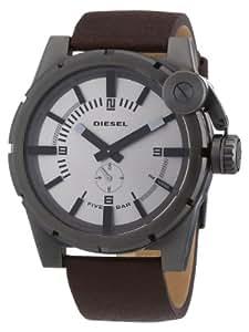 Diesel DZ4238 - Reloj analógico de cuarzo para hombre con correa de piel, color marrón