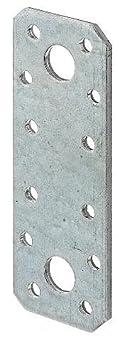 galvanis/ée Sendzimir 100 x 35 mm // 50 pcs Platine dassemblage acier