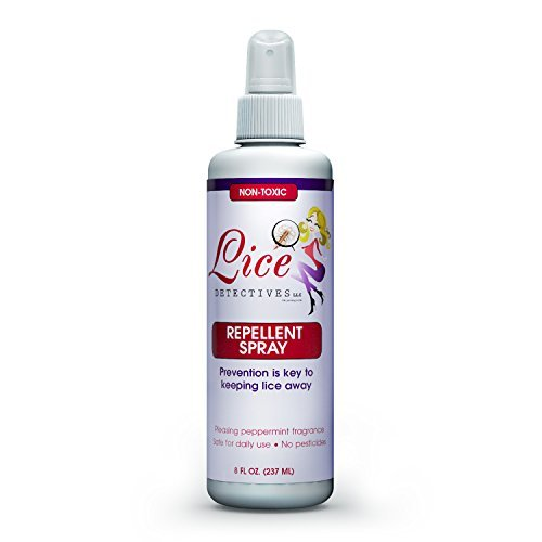 Lice Detectives Head Lice Prevention Treatment - Natural Essential Oils Repellent Spray - Daily Treatment for Kids - 8 oz Essential Oils Head Lice
