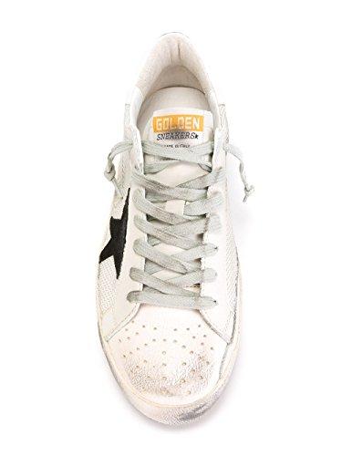 Bianco Golden Uomo Goose Gcoms590p9 Sneakers Tessuto xxgawvXnqF