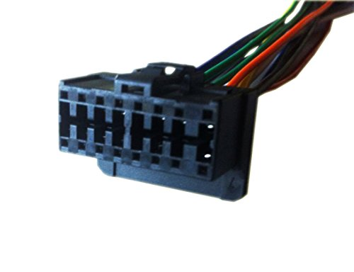 41LEKBLd9 L amazon com pioneer deh p640 deh p6400 player wiring harness Pioneer Deh P77DH Wiring Harness at bayanpartner.co