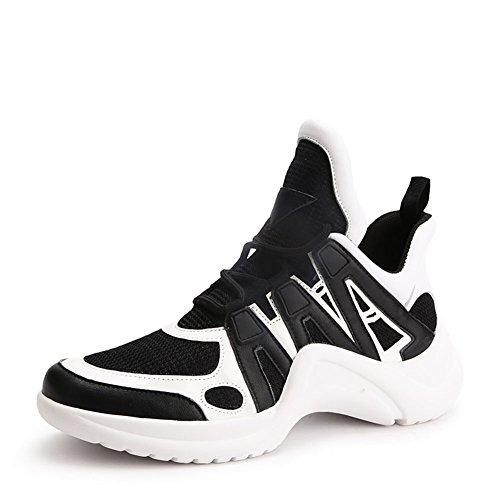 Zapatillas de Deporte de Las Mujeres Zapatos Casuales 2018 Primavera, Verano, Otoño Zapatos Deportivos de Malla Gruesa Zapatos Deportivos (Color : 3#, tamaño : 40) 2#